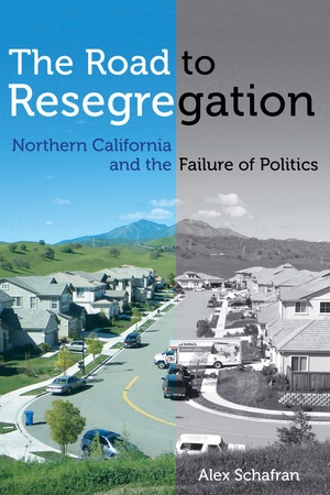 "This is the cover of a book titled ""The Road to Resegregation."""
