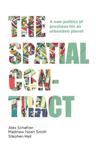 "This is the cover of a book titled ""The Spatial Contract."""